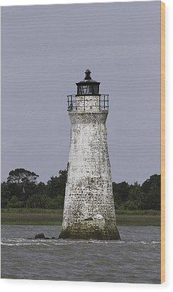 Cockspur Lighthouse Wood Print