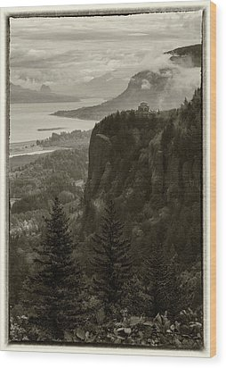 Wood Print featuring the photograph Columbia River Gorge by Angie Vogel
