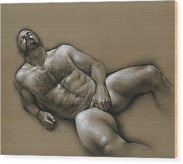 Comfort  Wood Print by Chris Lopez