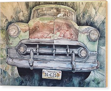 Condon's Coupe Wood Print by Lance Wurst