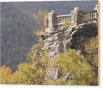 Cooper's Rock Overlook Wood Print
