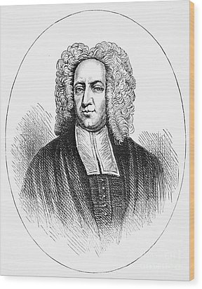 Cotton Mather (1663-1728) Wood Print by Granger