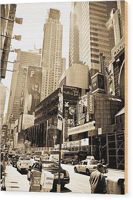 Crown Plaza New York City Wood Print