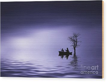 Wood Print featuring the photograph Cruise by Bess Hamiti