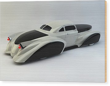 Wood Print featuring the photograph Custom  Lead Sled by Louis Ferreira