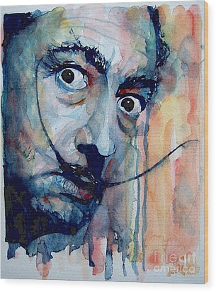 Dali Wood Print by Paul Lovering