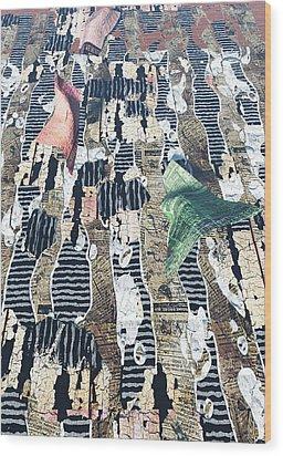 Dance Wood Print by Haruo Obana