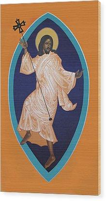 Dancing Christ Wood Print by Mark Dukes