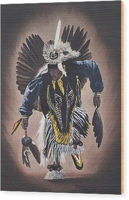 Dancing In The Spirit  Wood Print