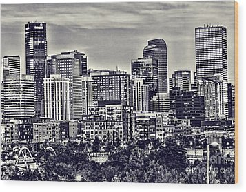 Denver Colorado Wood Print