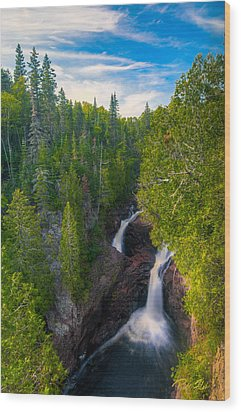 Devil's Kettle  Wood Print