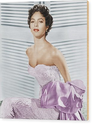 Dorothy Dandridge, Ca. 1950s Wood Print by Everett