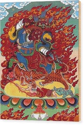 Dudjom's Dorje Drollo Wood Print
