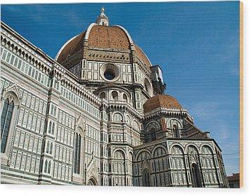 Duomo -  Florence Italy Wood Print by Carl Jackson