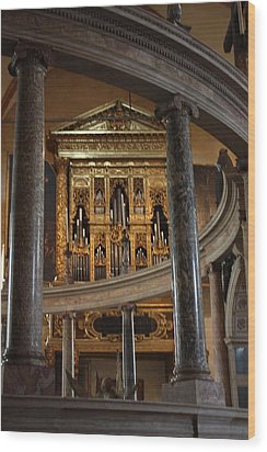 Wood Print featuring the photograph Duomo Verona by Pat Purdy