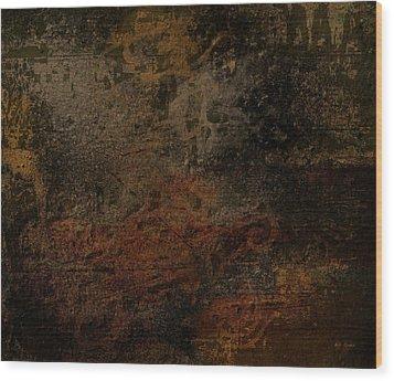 Earth Texture 2 Wood Print