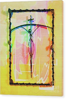 Easter Remembrance Wood Print by Al Bourassa