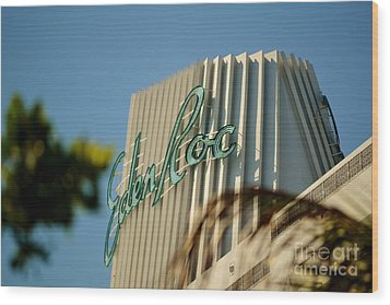Eden Roc Hotel Miami Beach Wood Print