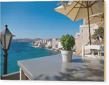 Ermoupoli - Syros / Greece. Wood Print