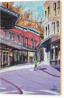 Eureka Springs Ak 4 Wood Print by Ron Stephens