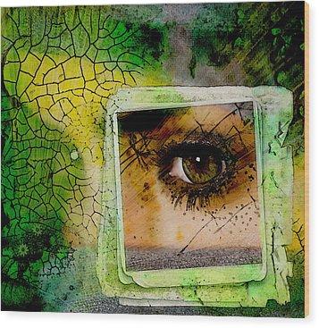 Eye, Me, Mine Wood Print