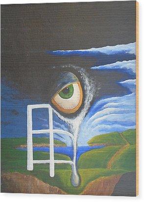 Eyefence Wood Print