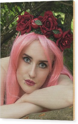 Fairy Queen Wood Print