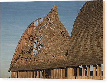 Wood Print featuring the photograph Falling Apart by Elvira Butler