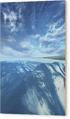 Wood Print featuring the photograph Far And Away by Phil Koch