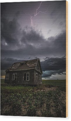 Wood Print featuring the photograph Fear by Aaron J Groen