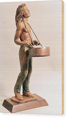 Feel De Rhythm Wood Print by Wayne Headley