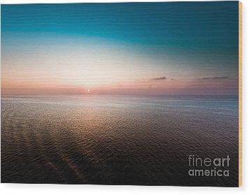 Florida Sunset Wood Print by Ryan Kelly