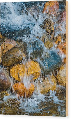 Wood Print featuring the photograph Fresh Water by Alexander Senin