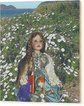 Gabriella Elizabeth Rossetti Wood Print by Adrianne Wood