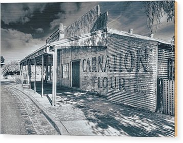 General Store Wood Print by Wayne Sherriff