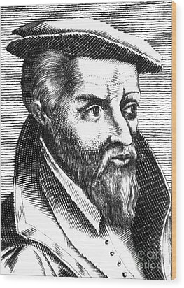 Georgius Agricola, German Scholar Wood Print by Science Source