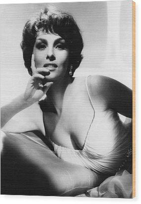 Gina Lollobrigida, Ca. Early 1960s Wood Print by Everett