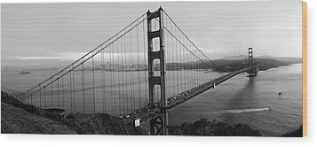 Golden Gate Bridge Wood Print