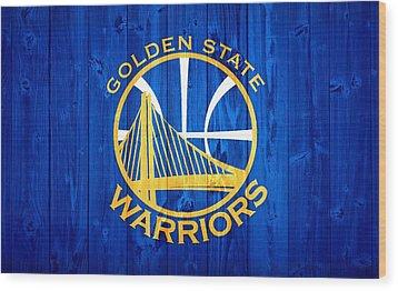 Golden State Warriors Door Wood Print