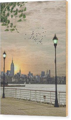 Good Morning New York Wood Print by Tom York Images