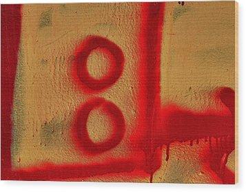 Graffiti Wood Print by Robert Ullmann