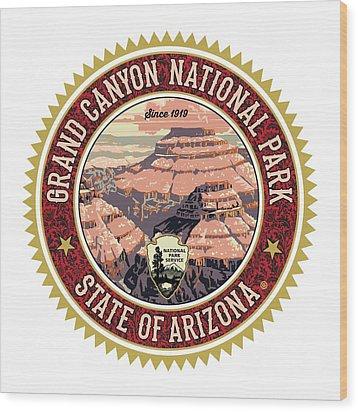 Grand Canyon Wood Print by Gary Grayson
