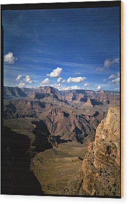 Grand Canyon Wood Print by Luca Baldassari