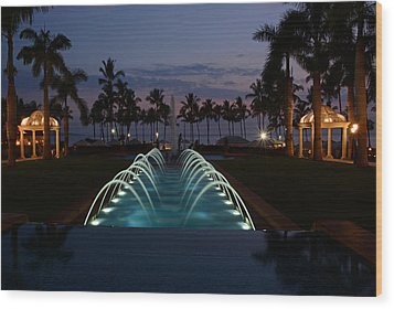 Grand Wailea Resort Wood Print
