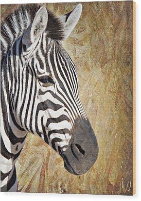 Grant's Zebra_a1 Wood Print