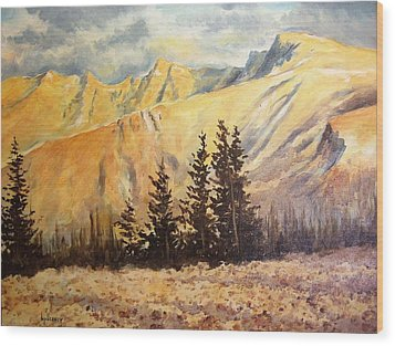 Great Basin National Park Nevada Wood Print by Kevin Heaney