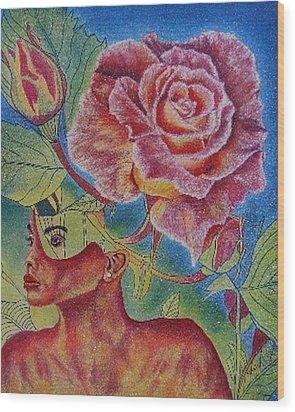Growth Within Wood Print by Shahid Muqaddim