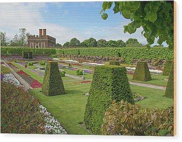 Wood Print featuring the photograph Hampton Palace Gardens by Elvira Butler