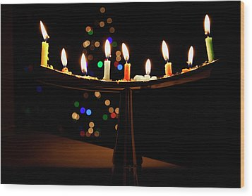 Wood Print featuring the photograph Happy Holidays by Susan Stone