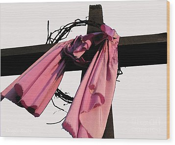 Wood Print featuring the photograph He Is Risen by Douglas Stucky